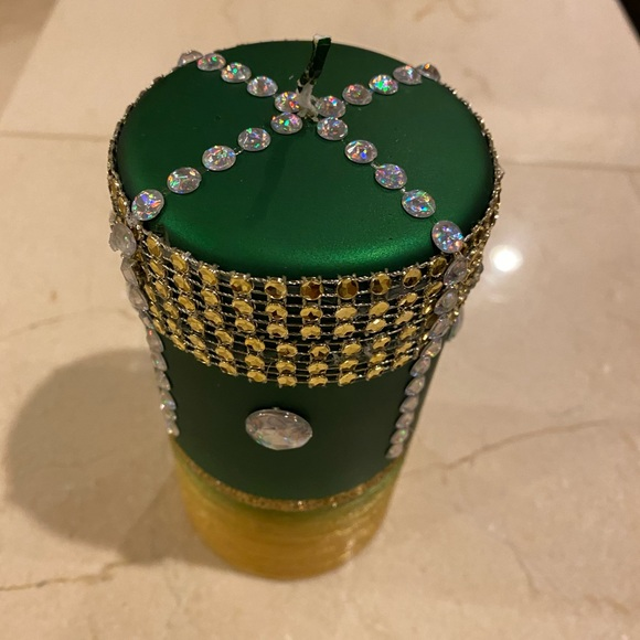 Home made decorative candle